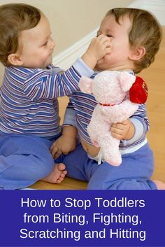 How to Stop Toddlers from Biting, Fighting, Scratching and Hitting. Young children have so many new and important skills to observe, practice and make sense of. Perhaps their most complicated lessons are the social rules for acceptable behavior. Social rules are often unclear and may vary widely depending upon the situation.