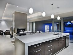 Modern Contemporary White Kitchen Interior Design Ideas 3 on Modern Contemporary Kitchen Designs - Best Kitchen Design