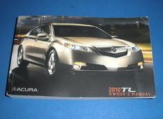 2010 Acura TL Owners Manual Book Guide