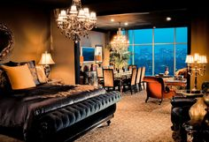 Fatal Charms Suite, Hotel ZaZa, Houston, has a special place in my heart as this is where my husband proposed. :)