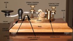 Jim, W6LG discusses how to send with a straight key using a World War II telegraph key. Also, a brief portion of a video on how to send Morse Code with a straight key.