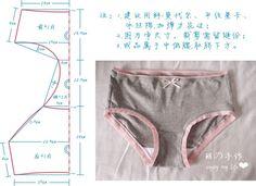 underwear pattern, just picture