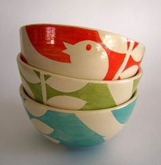 ken eardley ceramics from avaocado sweet, also at the lovely http://www.blackbird-england.com