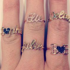 personalized jewelry in gold. www.thea-jewelry.com