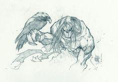 Darksiders Sketch | Joe Madureira