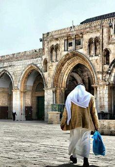 Al Quds, Falasteen Palestine History, Israel Palestine, Jerusalem Israel, Islamic Architecture, Art And Architecture, Terra Santa, Naher Osten, Islamic Page, Karbala Photography