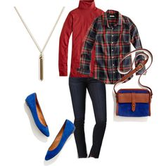 Polyvore J.Crew, AG Adriano Goldschmied and Madewell October 2012