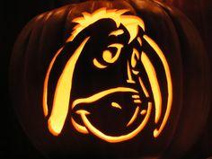 Cute Pumpkin Carving, Disney Pumpkin Carving, Halloween Pumpkin Carving Stencils, Pumpkin Carving Patterns, Pumpkin Painting, Scary Halloween Pumpkins, Carving Pumpkins, Scary Pumpkin, Pumpkin Ideas