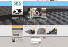 SKS | Kauçuk Hayvan Yatakları | Web Design