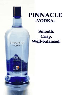 Really cheap French vodka that actually tastes pretty good anyway.