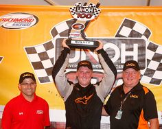 The UNOH 100 NASCAR race came to an early finish due to weather conditions, which allowed Austin Hill and his team into Victory Lane for their second win of the 2015 K&N East season