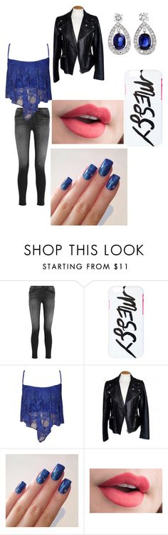 """""""blue"""" by bree70475 on Polyvore featuring J Brand, WearAll and Alexander McQueen"""