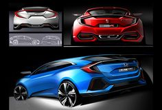Honda Design|THE 10TH CIVIC DESIGN STORY|HATCHBACK