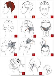 beauty school head sheet | the studio | Pinterest | School and ...