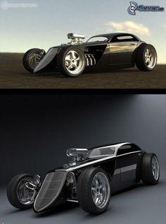 new Street Rod Hot Rods, Weird Cars, Cool Cars, Carros Audi, Pt Cruiser, Us Cars, Street Rods, Amazing Cars, Custom Cars