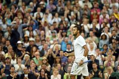 The crowd show their support for Jo-Wilfried Tsonga - Jon Buckle/AELTC