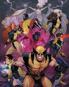 X-MEN Characters by Lucas WERNECK | PORTFOLIO: X-MEN.