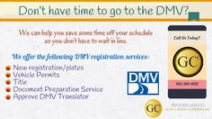 GC Trusted Agents in Las Vegas will help you for DMV registration services in Las Vegas without standing in Long queue.