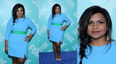 Mindy Kaling Totally Blue It, NEW YORK, NY - MAY 13: FOX 2103 Programming Presentation Post-Party at Wollman Rink - Central Park on May 13, 2013 in New York City.