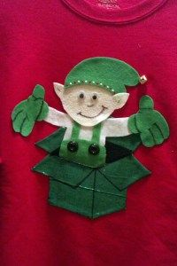 12 Days of Holiday Sweaters, Day 7: An elf surprise