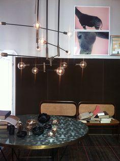 Dimore studio light pink wash then black