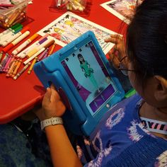 Last month, the kids were able to color and create their own fashions, and watch them walk down the runway using the Quiver app for the Fashion Show program! Lots of fun! 3d Fashion, Quiver, To Color, Runway, Public, Walking, App, Watch, Create