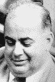 """Anthony R. """"Tony"""" Gizzo,(1902-1953) a longtime ally of Kansas City political boss Charles Binaggio, is widely believed to have served as chief of the western Missouri Mafia Family during the early 1950s. Perhaps never the sole boss of the Kansas City underworld, he was a leader of gambling rackets and a strong political leader on the city's North Side. Died of a heart attack in 1953."""