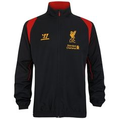 11f8b5f0b New Liverpool Training Jacket by Warrior for 2012 13 season available at  North America Sports · Liverpool Fc KitSoccer ...