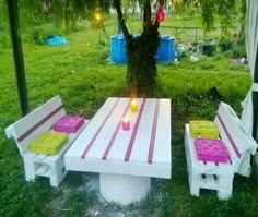 tablas de palets de madera paleta al aire libre paletas de madera muebles de palets ideas bricolaje diseo ideas para paletas