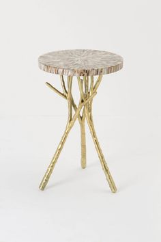 Beach Bramble Side Table - Anthropologie.com