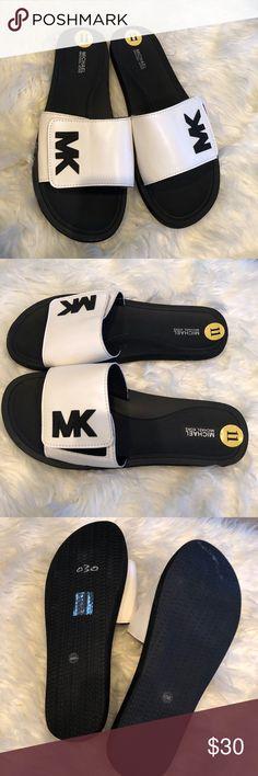 the best attitude 93e04 9a5c9 Micheal kors men slides sz 11 New Michael Kors Shoes Sandals   Flip-Flops  Slide