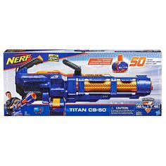 Nerf Elite Titan et Flechettes Nerf Elite Officielles Lego Rubiks Cube, Arma Nerf, Pistola Nerf, Photo Table, Cool Nerf Guns, Nerf Darts, Nerf Toys, Capture The Flag, Toys R Us Canada