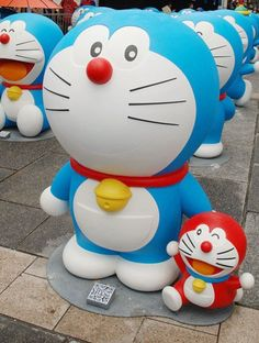 Japan& most lovable anime character, el gato cosmico (the cosmic cat) has been chosen to be Japan& ambassador in Tokyo& bid for the 2020 Olympic and Par Doraemon, Tokyo Olympics, 2020 Olympics, Takashi Murakami, Olympic Games, Anime Characters, Smurfs, Pop Culture, Hello Kitty