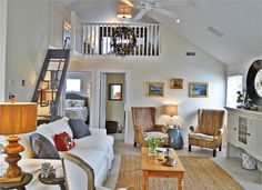 Newly decorated, comfortable living area  Yarmouth, Cape Cod vacation rental on WeNeedaVacation.com ID 24010