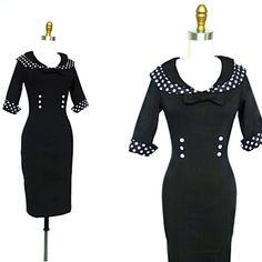 pin-up prim wiggle dress