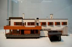 Alvar Aalto Museum  Vila Mairea model
