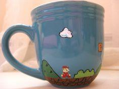 Super Mario Brothers Mug (definitely want to start this nerdy mug collection)