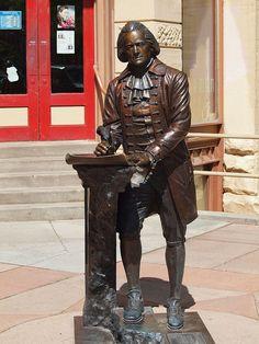 Thomas Jefferson Statue, Presidents Tour, Rapid City, South Dakota - 3rd President of the United States of America