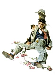 "Norman Rockwell ""Rejected Suitor"" (1926)"
