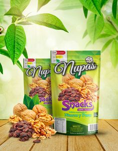 Nupas, Frutos secos. on Behance