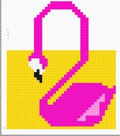 Frank&Olive Flamingo Bag Crochet pattern by Frank&Olive