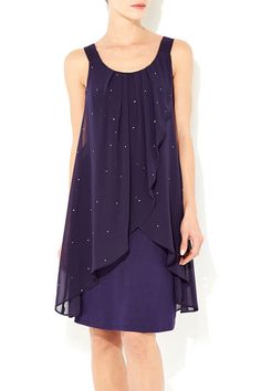 cute dress!  love the color