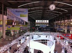 BAU 2011 in München - weltweit größte Fachmesse für Architektur, Materialien und Systeme
