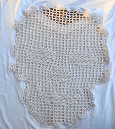Handmade crochet skull tshirt in gray or white / by SophieCRO