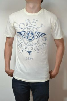"""Camisa marca OBEY """"TAKE THE STREETS"""""""
