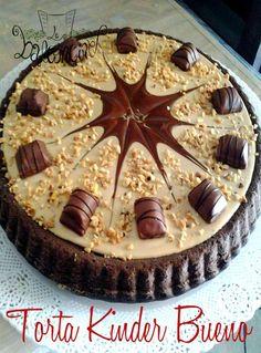 Torta kinder bueno #nocciole #cioccolato #cremadinocciole