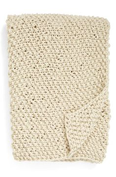 Nordstrom at Home Chunky Stitch Throw Blanket available at #Nordstrom