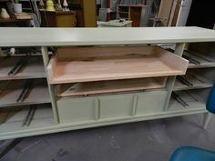 JULIE PETERSON - Simple Redesign: TURNING A MCM DRESSER INTO A TV CONSOLE / ENTERTAINMENT CENTER
