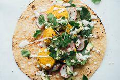 mung bean falafel tacos | dolly and oatmeal