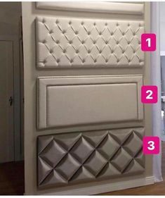 No photo description available. Luxury Bedroom Design, Bedroom Bed Design, Bedroom Furniture Design, Bed Furniture, Interior Design Living Room, Simple Bed Designs, Double Bed Designs, Bed Headboard Design, Headboards For Beds